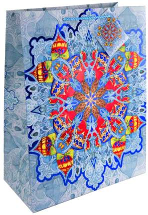 """Пакет бумажный """"Калейдоскоп"""", 26x32,4x12,7 см"""
