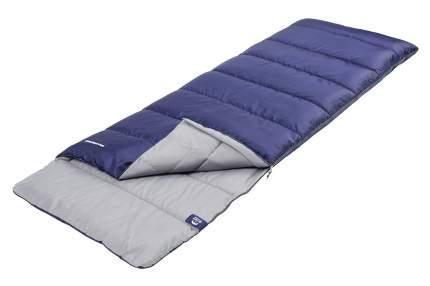 Спальный мешок Jungle Camp Avola Comfort, с подголовником, левая молния, цвет: синий