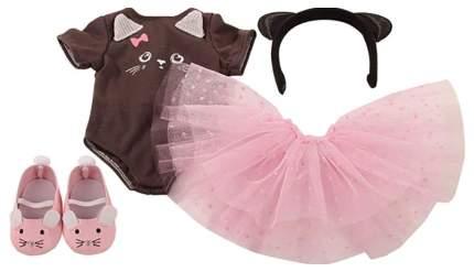 """Набор одежды для кукол """"Балерина"""" - Котенок, 5 предметов Gotz"""