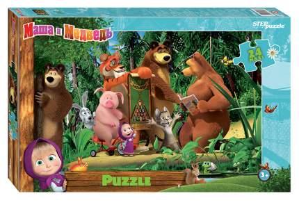 Пазл Step Puzzle maxi 24 детали Маша и Медведь - 2