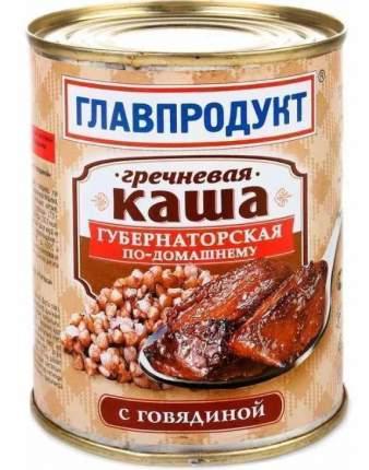 Каша перловая Главпродукт Губернаторская по-домашнему с говядиной 340г