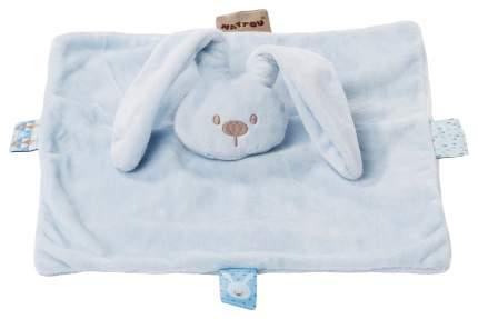 Игрушка мягкая Nattou Doudou (Наттоу Дуду) Lapidou Кролик sky blue 878098