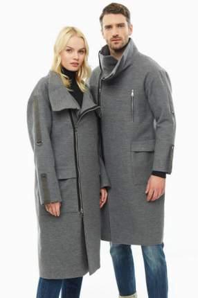 Пальто мужское NISHER NS1921301 серое ONE SIZE