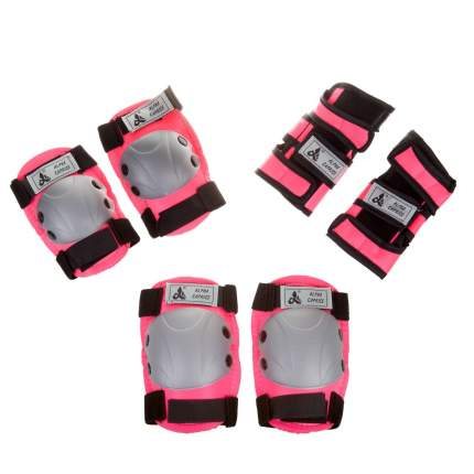 Комплект защиты alpha caprice 104b pink s
