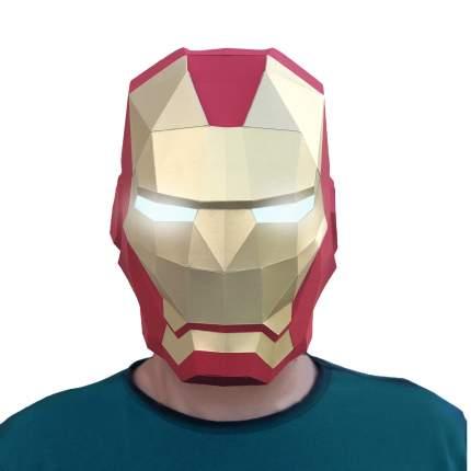3D-конструктор Paperraz Маска «Железный человек»