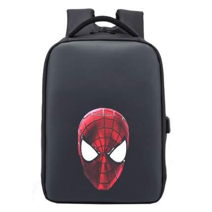 Рюкзак с LED-экраном Fly Leaf черный 12 л