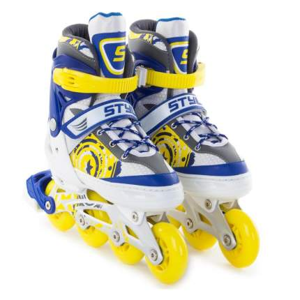 Роликовые коньки Start Up Style, 34, blue/yellow