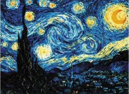 """Набор для вышивания РИОЛИС """"Звёздная ночь. Ван Гог"""""""
