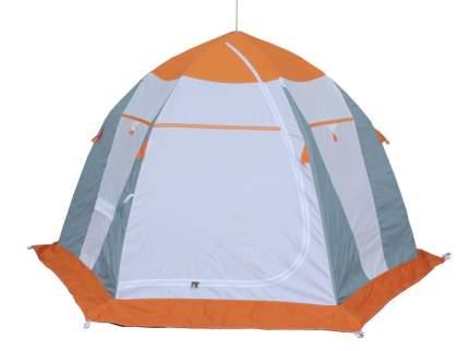Палатка рыбака Нельма 3 (автомат) (оранжевый/беж/хаки)