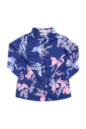 Блузка детская STEFANIA, цв. синий, р-р 110
