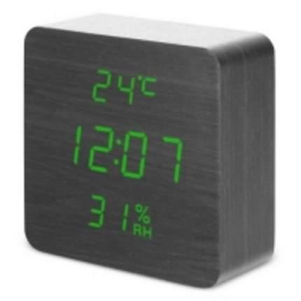 Настольные цифровые часы-будильник VST-872S (черные)