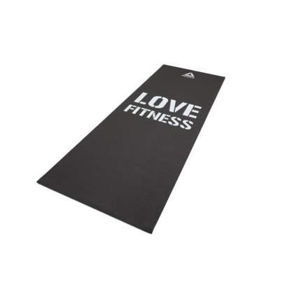 Коврик для йоги и фитнеса Reebok Love черный 4 мм