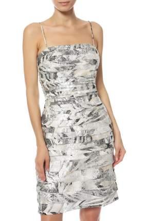Платье женское JS Collections 5859853 серебристое 4 US