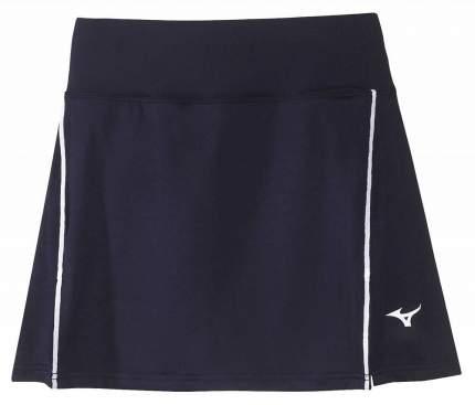 Спортивная юбка Mizuno Hex Rect Skort, темно-синяя, L