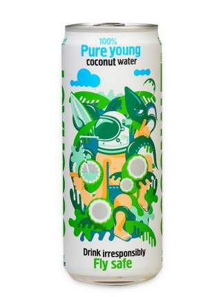 Кокосовая вода Coconaut газированная 320 мл