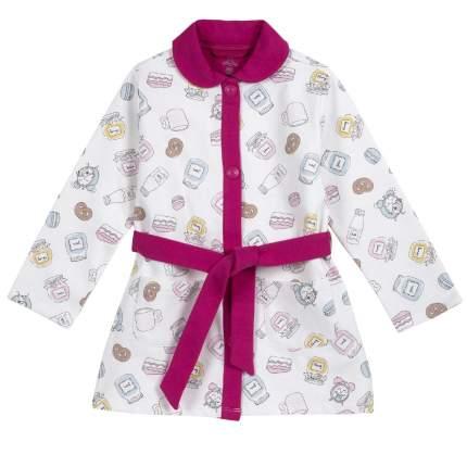 Халат Chicco для девочек, размер 104, цвет бежевый