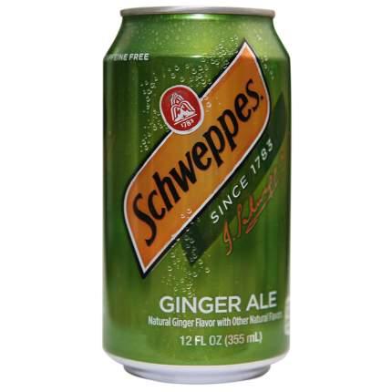 Напиток Schweppes ginger ale жестяная банка 0.36 л
