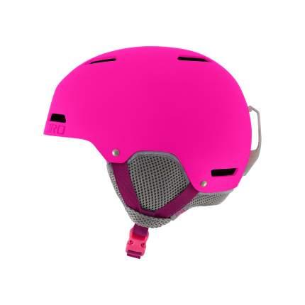 Горнолыжный шлем детский Giro Crue 2018, темно-розовый, S