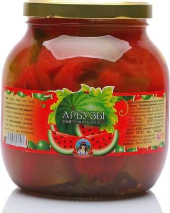 Арбуз Молдаванка консервированный 1.4 кг