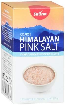Соль Salina гималайская розовая пищевая крупная 500 г