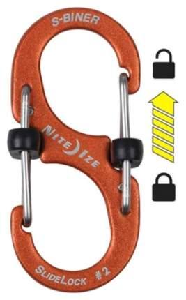 Набор карабинов Nite Ize S-Biner SlideLock Pack #2,3,4 LSBA234-A1-R6