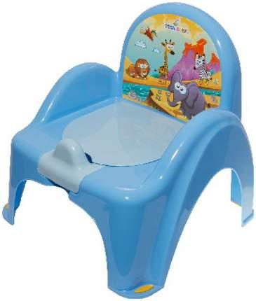 Горшок стульчик Tega Baby Сафари синий