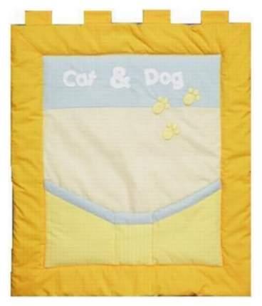 Панно Feretti Cat & Dog Оранжевый