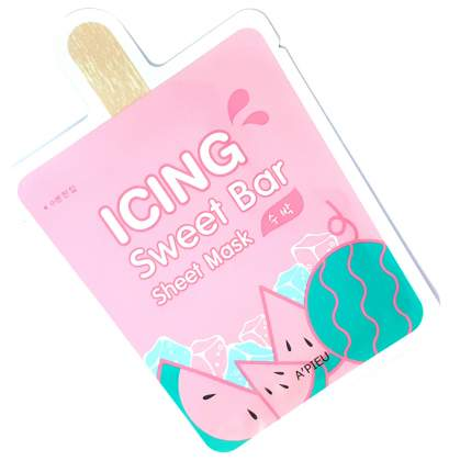 Маска для лица A'Pieu Icing Sweet Bar Sheet Mask Watermelon 21 г