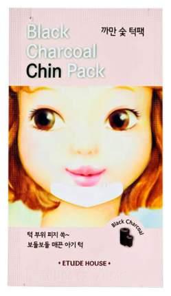Патчи для очищения кожи ETUDE HOUSE Black Charcoal Chin Pack 2 г
