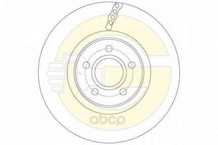 Тормозной диск GIRLING 6061383 передний