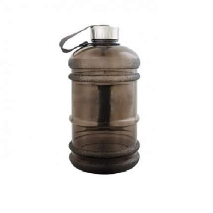 Бутылка для воды Be First без логотипа 2200 мл, черная