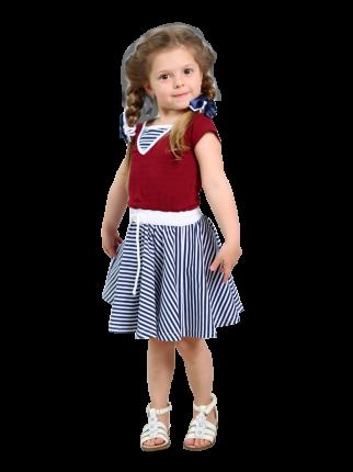 Платье Radiance RT1609/бордовый 110