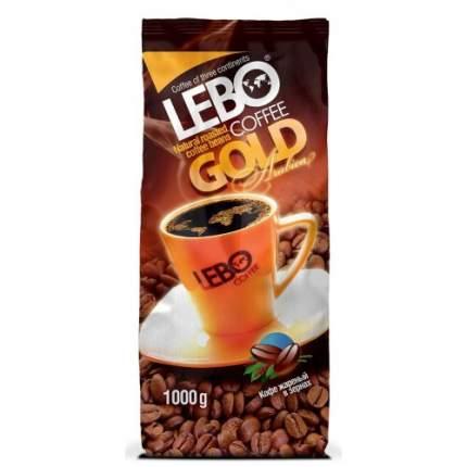 Кофе в зернах Lebo gold 1 кг