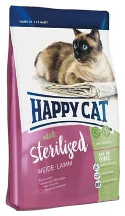 Сухой корм для кошек Happy Cat Sterilised, для стерилизованных, ягненок, 1,4кг