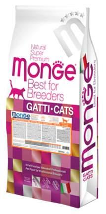 Сухой корм для кошек Monge Monoprotein Sterilised, для стерилизованных, утка, 10кг