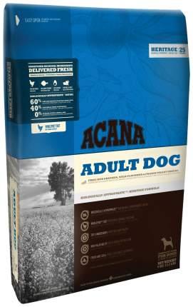 Сухой корм для собак ACANA Heritage Adult, цыпленок, 11,4кг