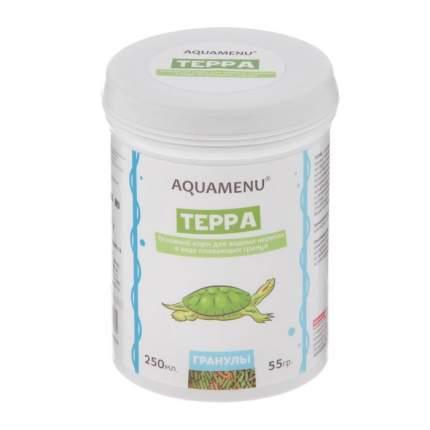 Корм для водных черепах Аква Меню Терра 250мл