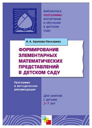 Формирование Элементарных Математических представлений В Детском Саду