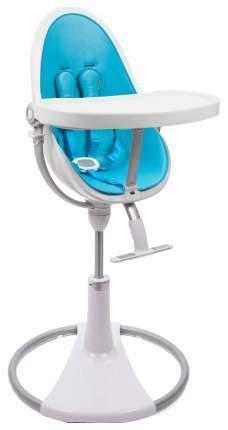 Стульчик для кормления Bloom Fresco Chrome White white, голубой