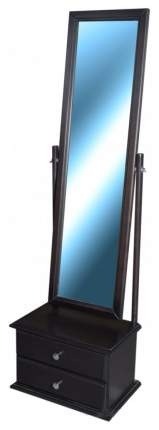 Зеркало напольное Мебелик 347 46х150 см, средне-коричневый