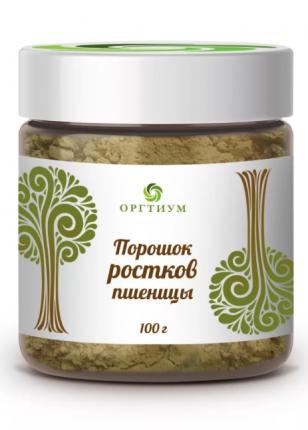 Порошок проростков пшеницы БИО, 100 гр, Оргтиум