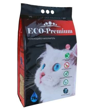 Впитывающий наполнитель для кошек ECO-Premium древесный, 7.6 кг, 20 л