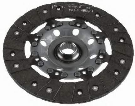 Диск сцепления Ford Galaxy, Seat Alhambra, VW Sharan Sachs 1864000628