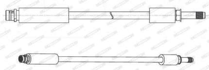 Шланг тормозной FERODO FHY3374