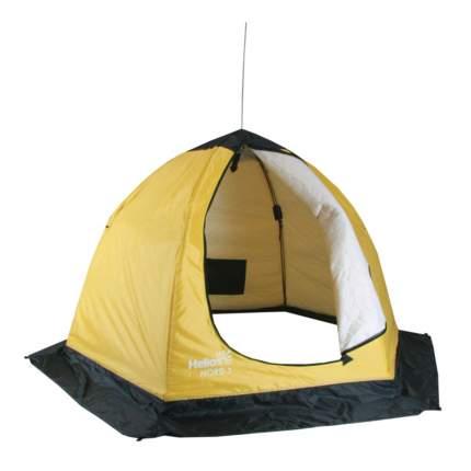 Палатка-автомат Helios Nord U трехместная желтая