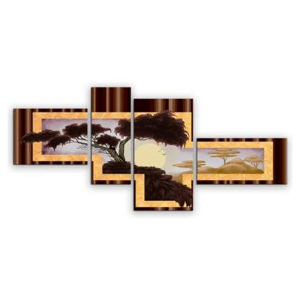 Картина КАРТИНОМАНИЯ Пейзаж Африки АРТ-М712 120x55
