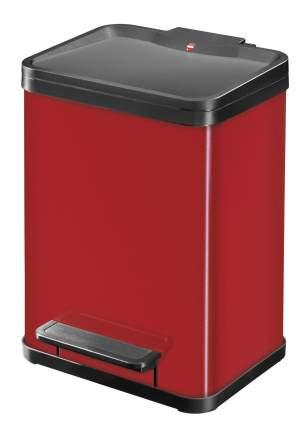 Мусорный контейнер Hailo Öko duo Plus M  2*9 л., Красный., арт. 0622-240