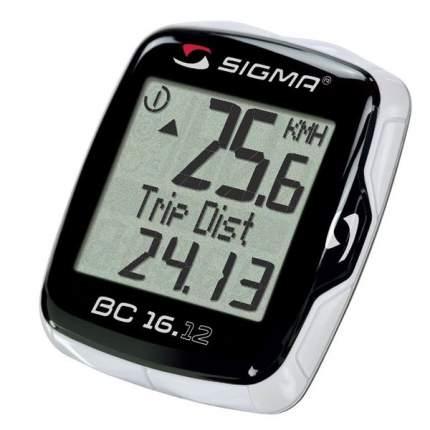 Велокомпьютер Sigma BC 16.12 черный