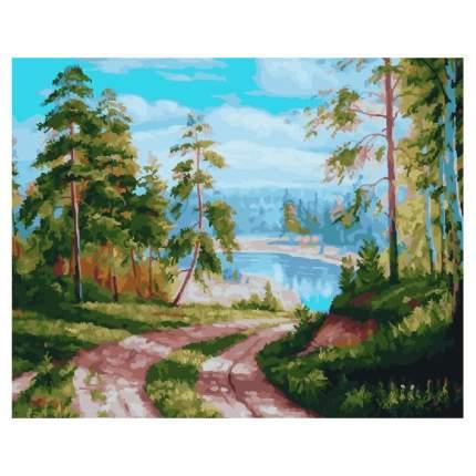 Картина по номерам Color Kit Сосновый лес