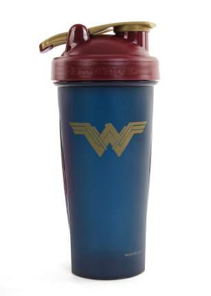 Шейкер IronTrue Wonder Woman 700 мл красный-синий